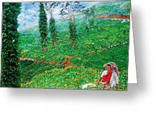 Munnar Tea Gardens Greeting Card