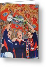 Munster Heiniken Cup Winners 2008 Greeting Card