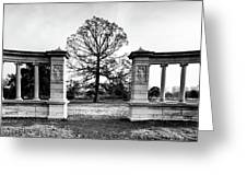 Muny Columns 2 Greeting Card