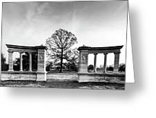 Muny Columns Greeting Card
