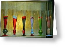 Murano Glasses In Venice Greeting Card
