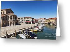 Murano Italy Greeting Card