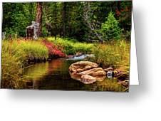 Murdock Basin Autumn Greeting Card