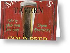 Murphy's Tavern Greeting Card
