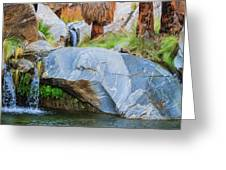 Murray Canyon Falls Greeting Card