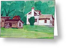 Murray Hill Watercolor Greeting Card