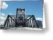 Murray Morgan Bridge, Tacoma, Washington Greeting Card