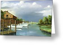 Murrells Inlet  South Carolina Greeting Card