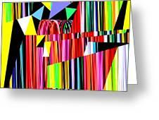 Muse 12 Greeting Card