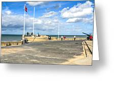 Musee Du Debarquement D Day Museum Greeting Card