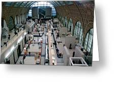 Museum D'orsay Paris Greeting Card