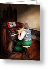 Music - Organist - The Lord Is My Shepherd  Greeting Card