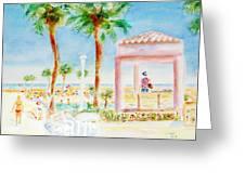 Music At Orange Beach Greeting Card