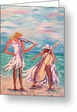 Music At The Water's Edge Greeting Card