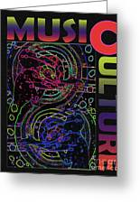 Music Culture Greeting Card
