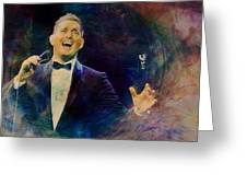 Music Icons - Michael Buble IIi Greeting Card