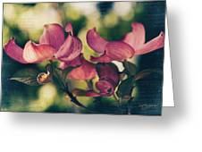 Music In Bloom Greeting Card
