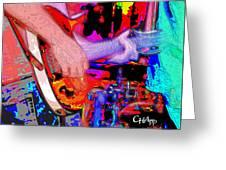 Music Out Of Metal IIia Greeting Card
