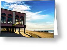 Music Pier Flare Greeting Card