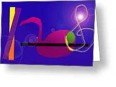 Musical Breakdown Greeting Card