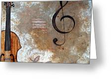 Musical Muse II Greeting Card