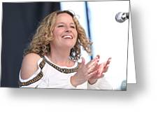 Musician Amy Helm Greeting Card
