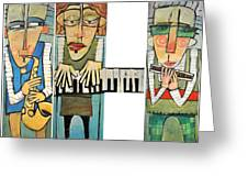 Musician Trio Greeting Card