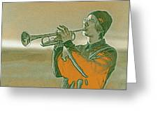 Musician Youth 3 Greeting Card