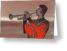 Musician Youth 4 Greeting Card