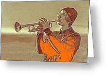 Musician Youth Greeting Card