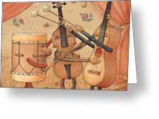 Musicians Greeting Card