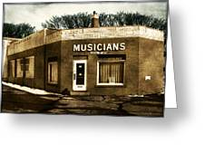 Musicians Local 67 Greeting Card