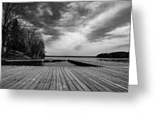 Muskoka Wood Greeting Card
