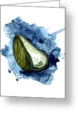 Mussel Shell Greeting Card