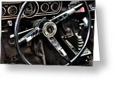 Mustang 330 Greeting Card