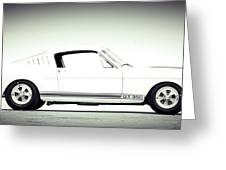 Mustang Shelby Greeting Card