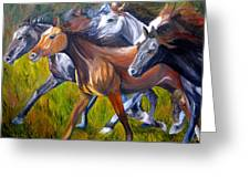 Mustang Spirit Greeting Card