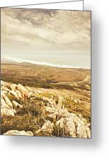 Muted Mountain Views Greeting Card