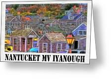 M V Iyanough Greeting Card