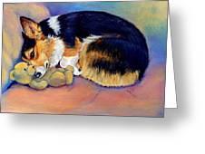 My Baby Pembroke Welsh Corgi Greeting Card
