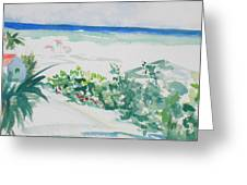 My Beach Cottage In Siesta Key Greeting Card