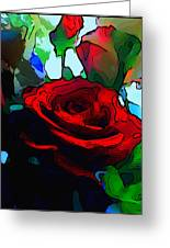 My Birthday Rose Greeting Card