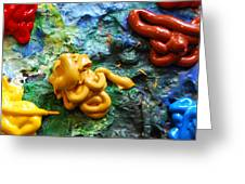 My Colorful Palette Greeting Card