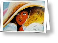 My Favorite Straw Hat II Greeting Card