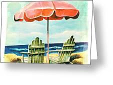 My Favorite Secret Beach Spot Greeting Card