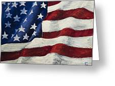 My Flag Greeting Card