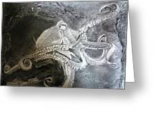 My Friend The Octopus Greeting Card