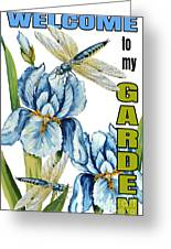 My Garden-jp2829 Greeting Card