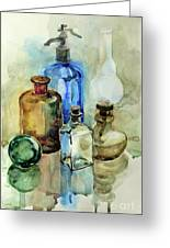 My Glass Collection II Greeting Card