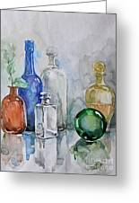 My Glass Collection IIi Greeting Card